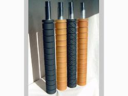 Garnissage de cylindres caoutchouc polyuréthane de 30° shore a à 90° shore a